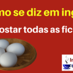 APOSTAR TODAS AS FICHAS – All your eggs in one basket